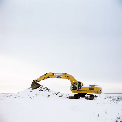 Picture of Resting Excavator, January 2016