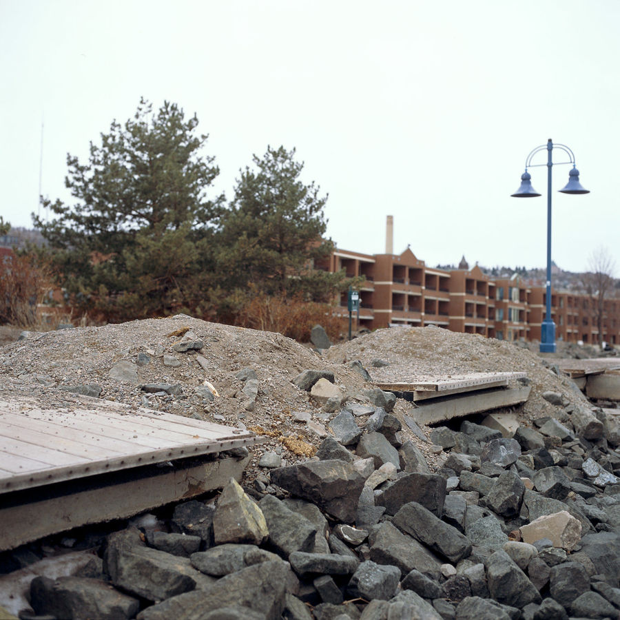 Picture of Lakewalk Damage, April 2018
