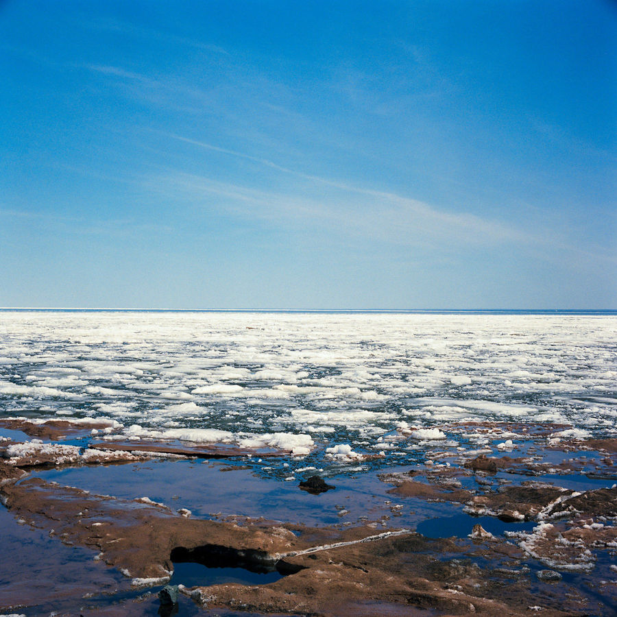 Picture of Lake Superior Ice Melt, April 2014