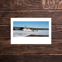 Picture of Snowpile and a Car - Everyday Print