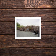 Picture of Graffiti At Black Beach - Everyday Print