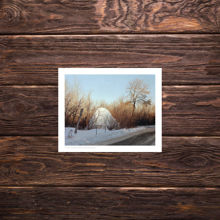 Picture of Orange Street Ice Formation - Everyday Print