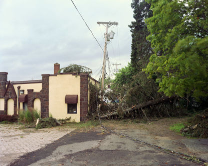 Picture of Wind Damage, Duluth, Minnesota, July 2016