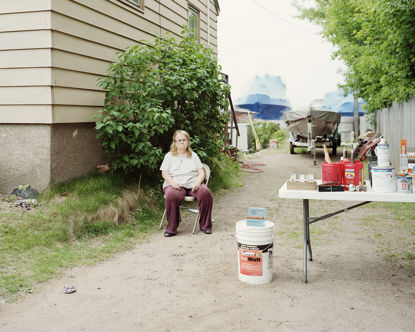 Picture of Park Point Rummage Sale, Duluth, Minnesota, June 2012