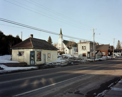 Picture of Duncan Ave, Hubbel, Michigan, March 2015