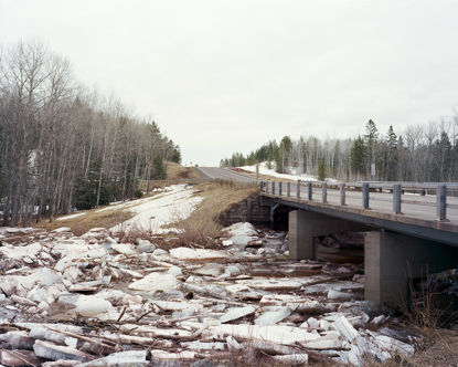 Picture of Ice Jam, Superior, Wisconsin, April 2014
