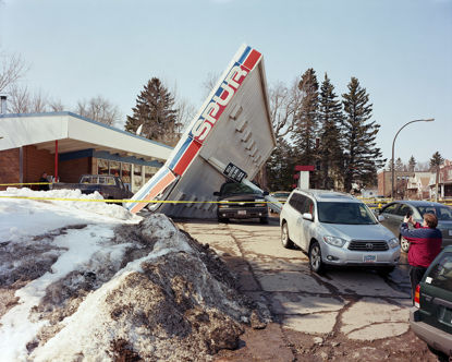 Picture of Gas Station Collapse, Duluth, Minnesota, April 2014