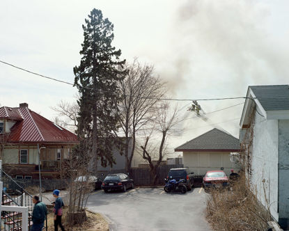 Picture of Applewood Knoll Apartment Fire, Duluth, Minnesota, April 2015