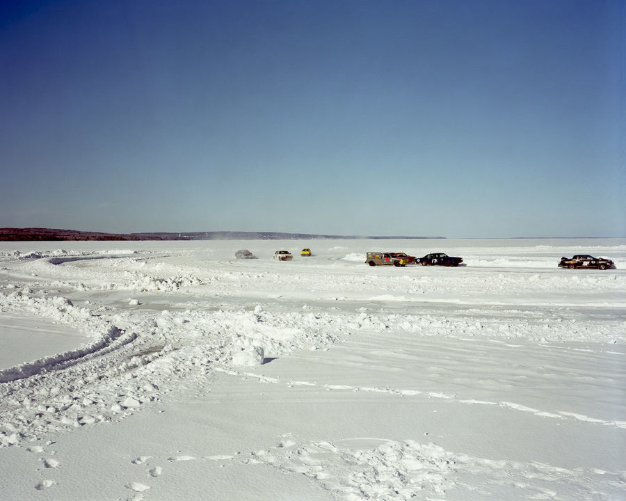 Picture of Ice Racing On Chequamegon Bay, Ashland, Wisconsin, March 2013