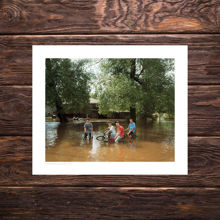 Picture of Bikers In Floodwater - Polka Party Edition