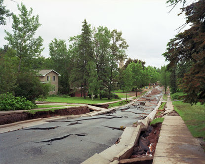 Picture of The Collapse of Vermilion Road, Duluth, Minnesota, June 2012