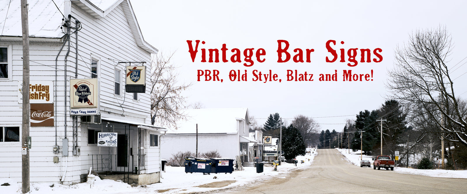 Vintage Bar signs of the Midwest