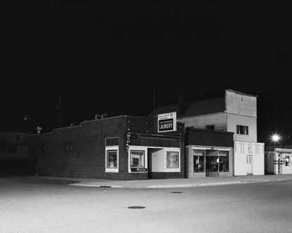 Picture of Laundromat, Birnamwood, Wisconsin, June 2003