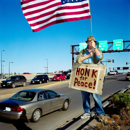 Picture of Honk For Peace, April 2010