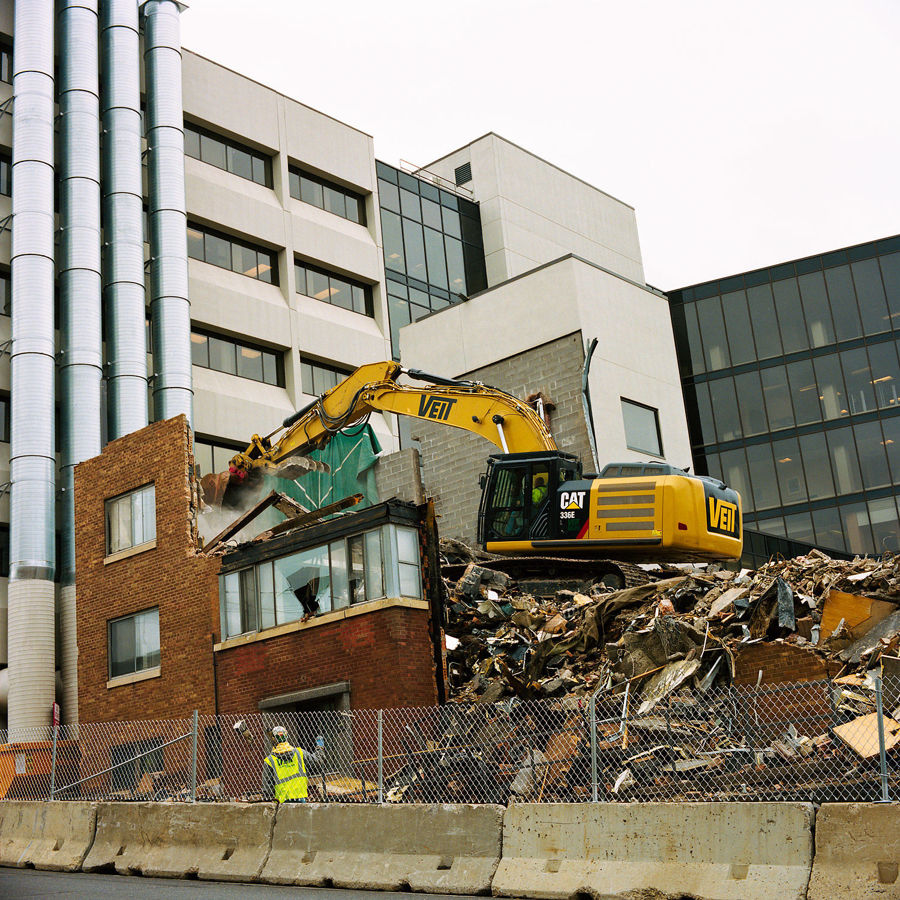 Picture of St. Mary's Demolition, September 2013
