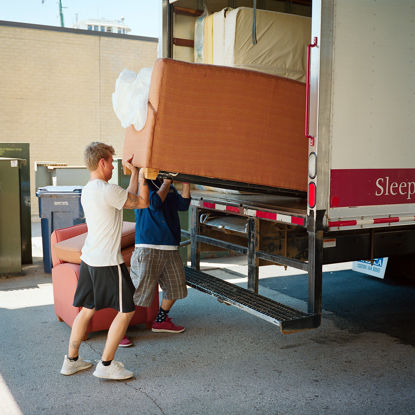 Picture of Moving A Couch, July 2017