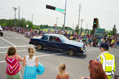 Picture of 4th of July Parade, July 2012