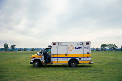Picture of Waiting Ambulance, July 2011