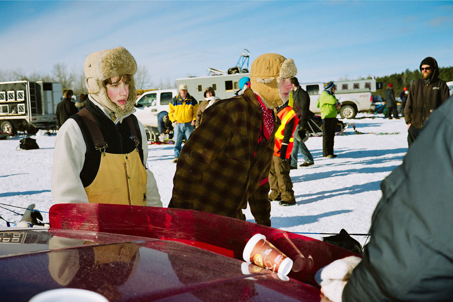 Picture of Boys at Beargrease, January 2011