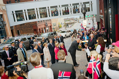 Picture of King of Norway, October 2011