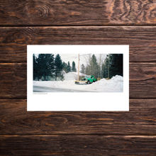 Picture of Green & Gold Plow - Everyday Print