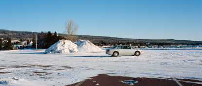 Picture of Snowpile and a Car