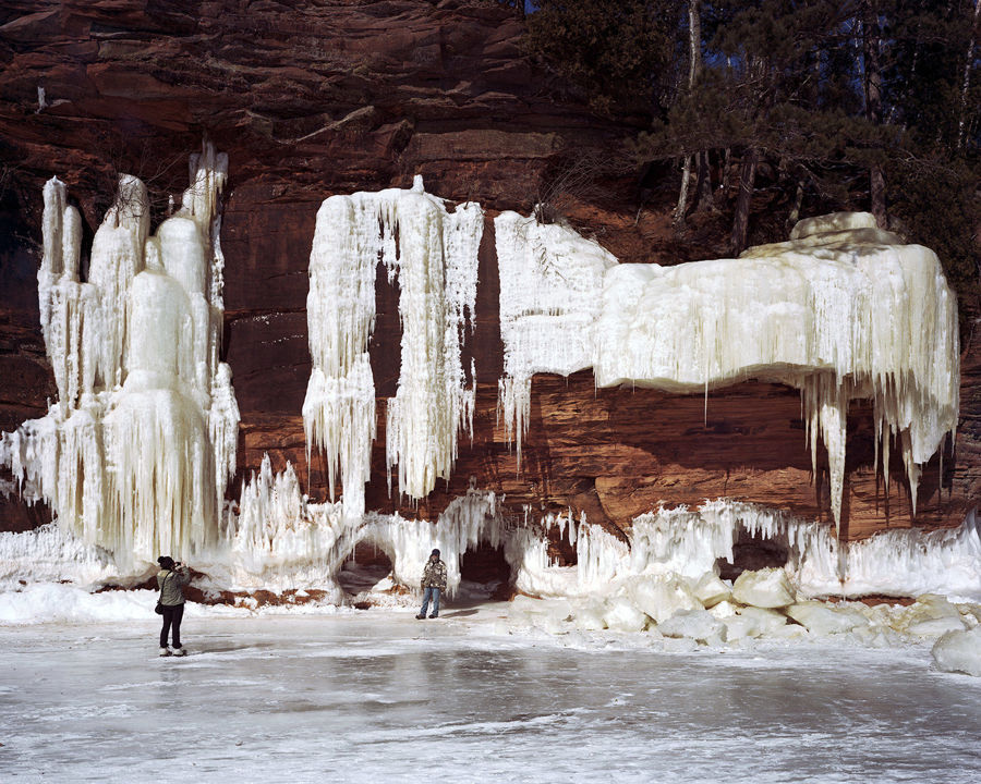 Picture of Ice Caves, Bayfield, Wisconsin, February 2015