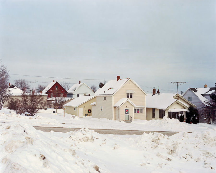 Picture of Houses, Gilbert, Minnesota, February 2014