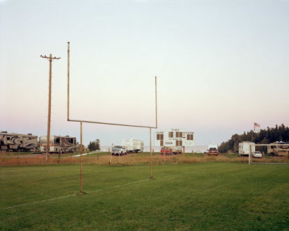 Picture of Football Field, Two Harbors, Minnesota, September 2014