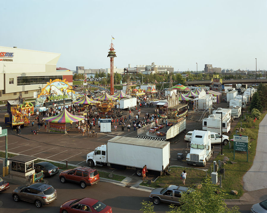 Picture of Thomas Carnival, Duluth, Minnesota, July 2013
