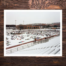 Picture of World Record Attempt At Snow Angels. 7086 People Short - Museum Edition