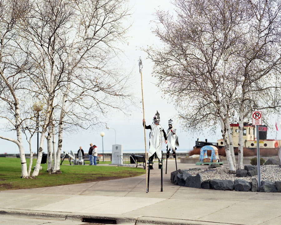 Picture of Stiltwalking Smelt, Duluth, Minnesota, April 2012