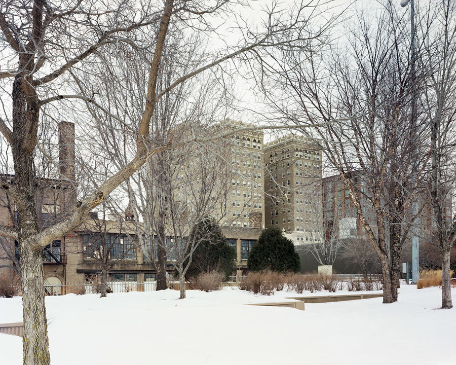 Picture of Greysolon Plaza, Duluth, Minnesota, January 2013