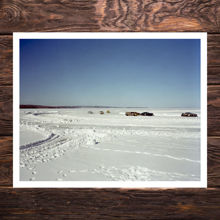 Picture of Ice Racing On Chequamegon Bay - Museum Edition
