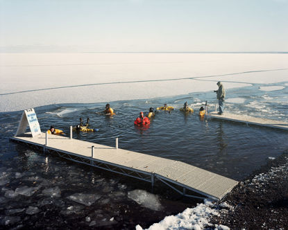 Picture of Polar Plunge Safety Crew, Duluth, Minnesota, February 2013