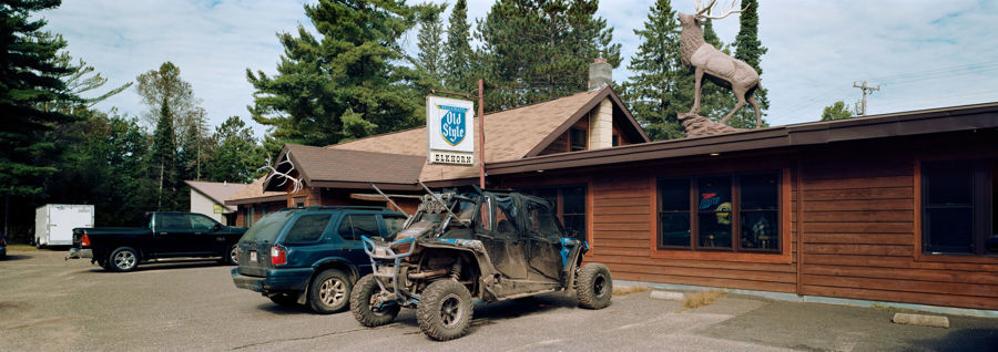 Picture of Elkhorn Lodge, Clam Lake, Wisconsin, September 2018