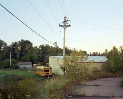 Picture of Parked Buses, Two Harbors, Minnesota, September 2014